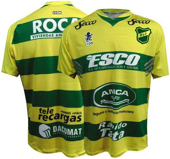 Sport Lyon lança as novas camisas do Defensa y Justicia c7533d566b67e