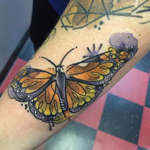 30 Charming Butterfly Tattoos For Women