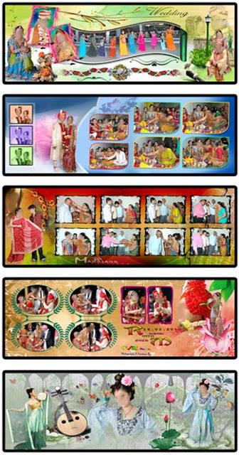 20 Indian Wedding Album Design Templates