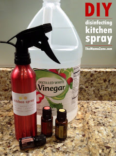 DIY Kitchen Disinfectant Spray