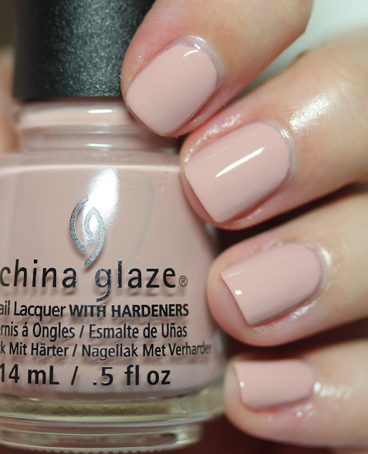 China Glaze Shades of Nude Note to Selfie