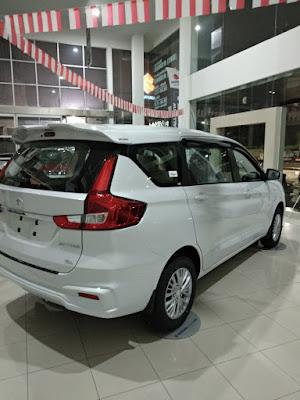 Suzuki All New Ertiga Di Dealer Resmi Nangewer Bogor Berwarna Putih Merupakan iPilihan Favorit pembeli
