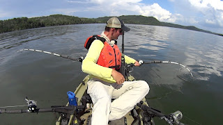 Rod Holder Options for Kayak Catfishing