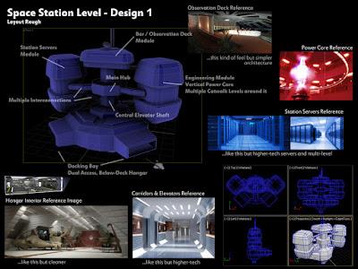 Original design for space station