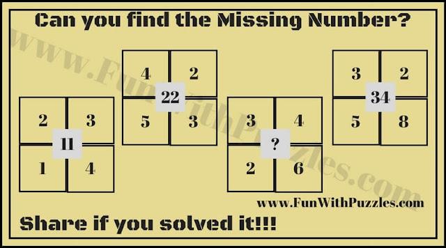 Maths Number Brain Teaser for Kids