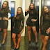Ebube Nwagbo steps out in see-through sexy black dress (Photos)