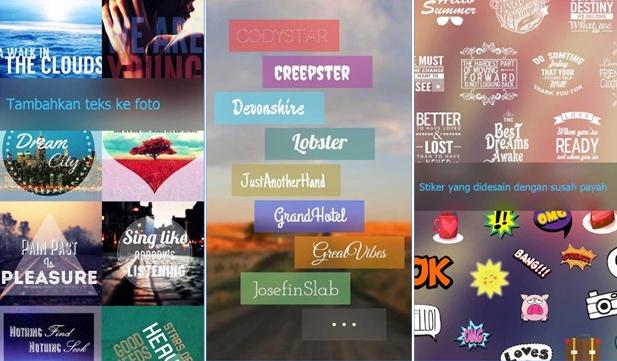 10 Aplikasi Android buat tulisan di Foto dengan hasil terbaik dan paling OK