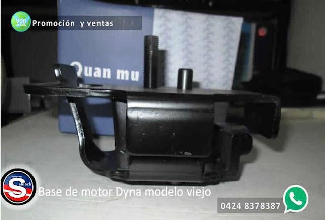 Promoción y ventas -  base de motor Dyna modelo viejo