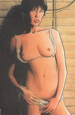 ilustraciones eroticas de chicas a color