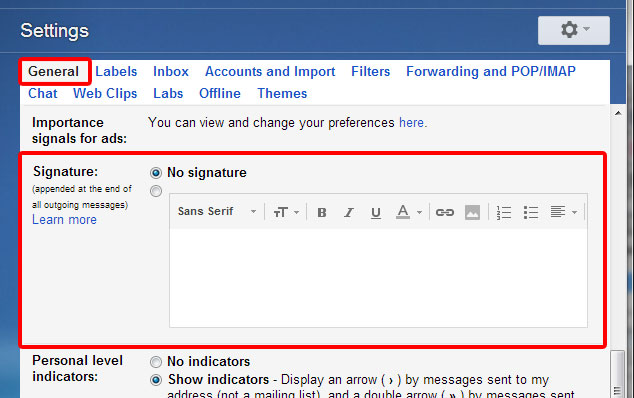 Pursued by God Tricking Gmail out of trimming your signature