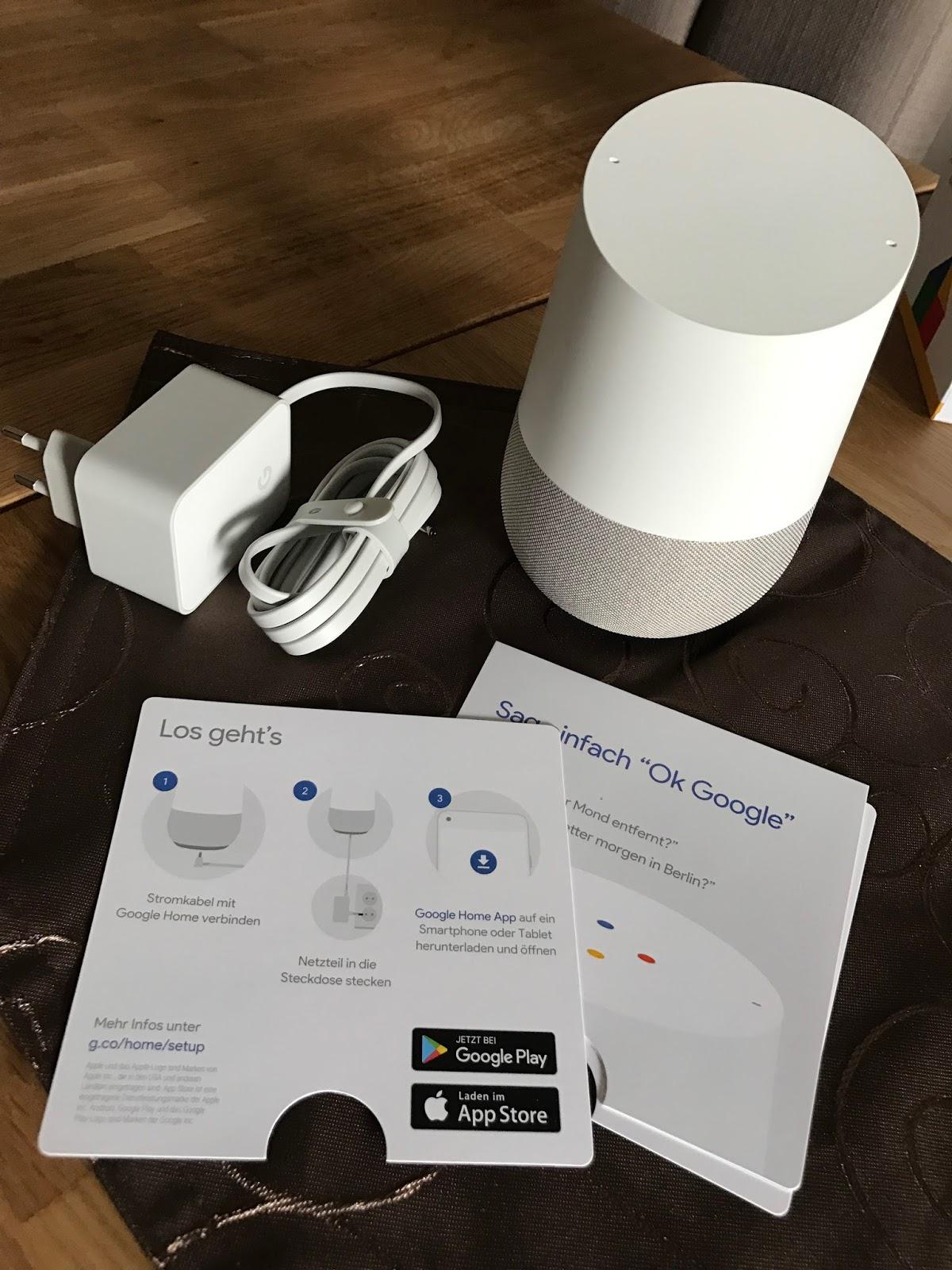 Bedient Werden Kann Die Google Home Box Via Sprache, Aber Einige  Kleinigkeiten, Können Auch Auf Der Touchoberfläche Auf Dem Gerät Selber  Bedient Werden: