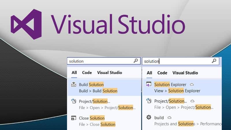 Visual Studio 2019 adds AI-powered Visual Studio Search service