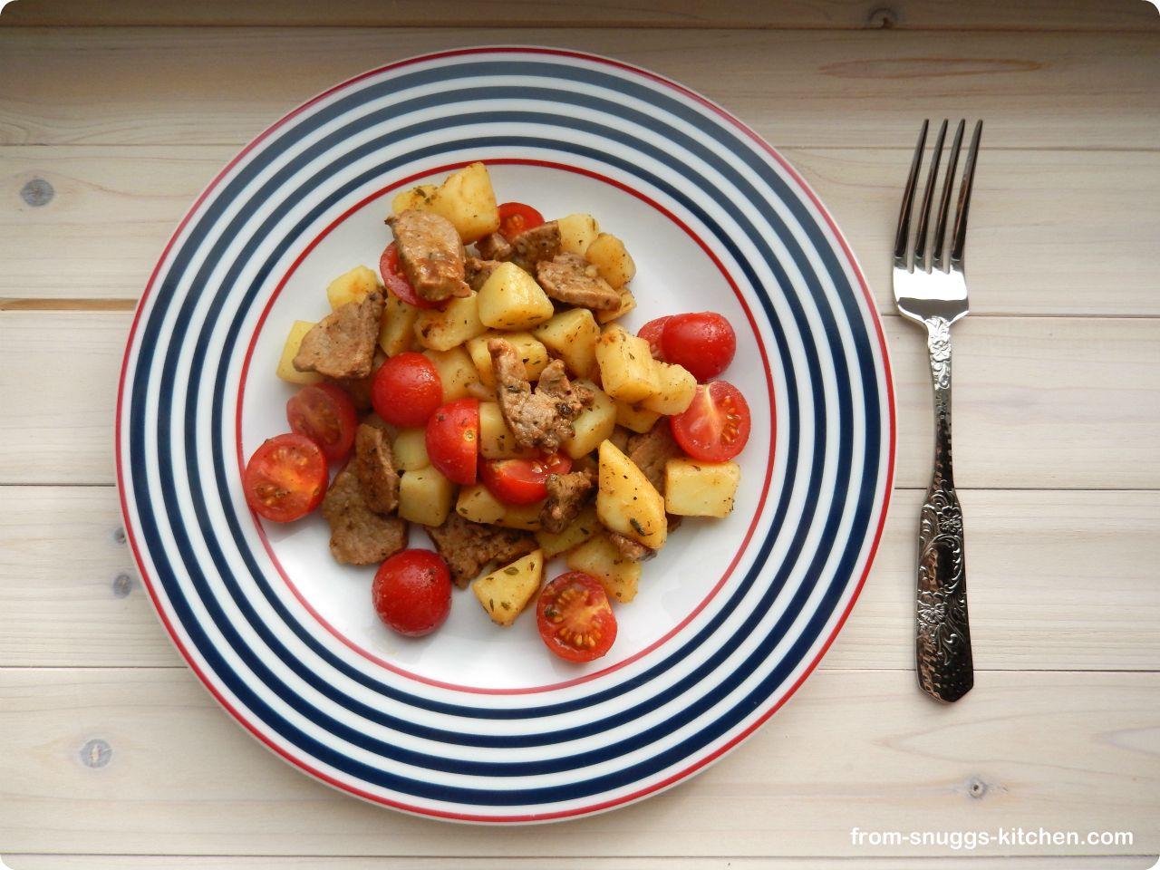 griechische Kartoffelpfanne   From Snuggs Kitchen