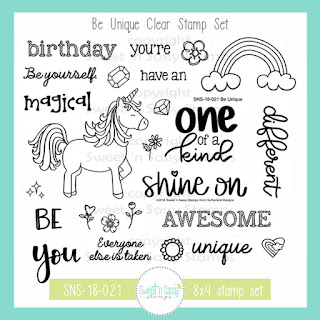 http://www.sweetnsassystamps.com/be-unique-clear-stamp-set/