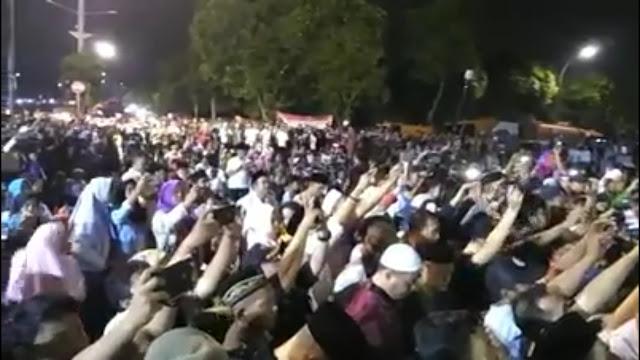 Masya Allah, Begini Sambutan Gubernur Anies dalam Malam Takbir Akbar
