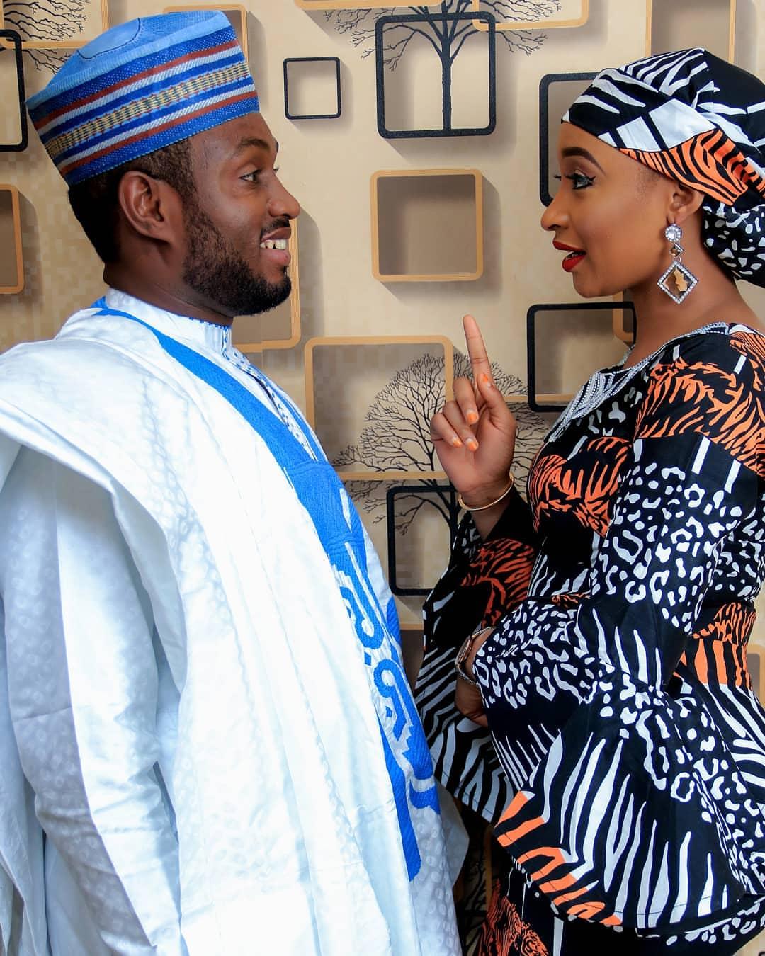 Maganar Gaskiya : Akan Hotunan Pre-wedding na Sadiq sani Sadiq Da Rahama Sadau - Daga Rahama sadau