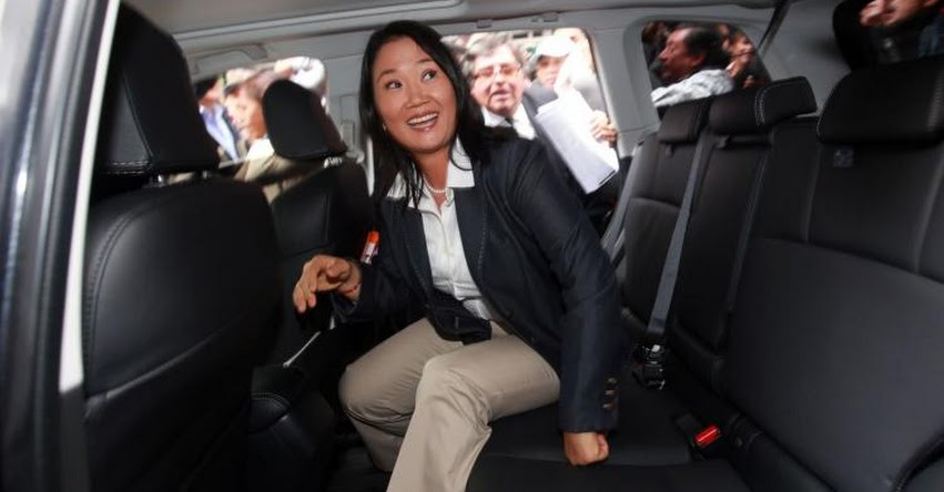KEIKO FUJIMORI: Popularidad de lideresa de Fuerza Popular cae a 13%, según encuestadora GfK