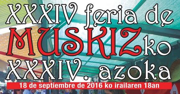 XXXIV Feria Agrícola de Muskiz