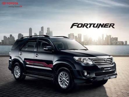 Cara membuka ban serep Toyota Fortuner