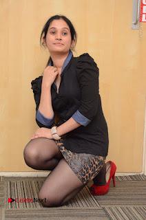 Telugu Actress Priyanka Pallavi Stills in Micro Mini Skirt at Nenosthaa Movie Song Launch at Radio City  0052.JPG