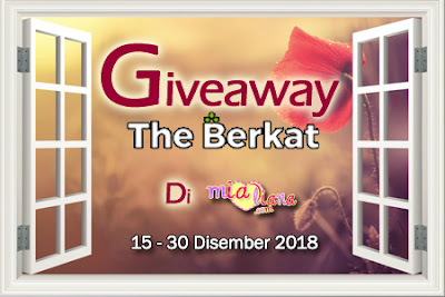 Giveaway The Berkat Di Mialiana.com, Blogger Giveaway, 2018,