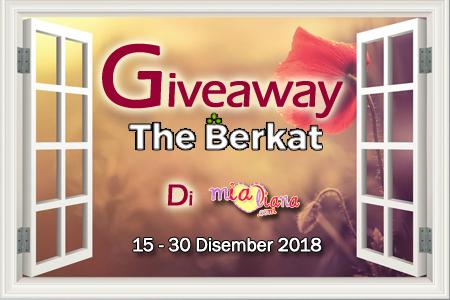 Giveaway The Berkat Di Mialiana.com