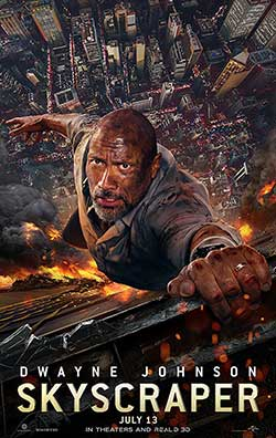 Skyscraper 2018 Hindi 300MB Movie BluRay 480p