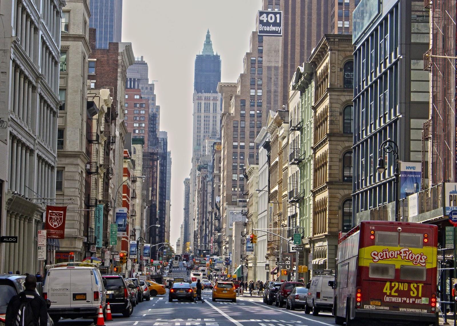 New York City USA itinerary
