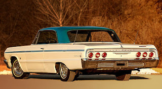 1964 Chevrolet Impala SS Rear Left