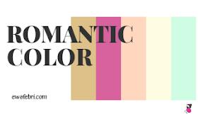 romantic color pallete ideas