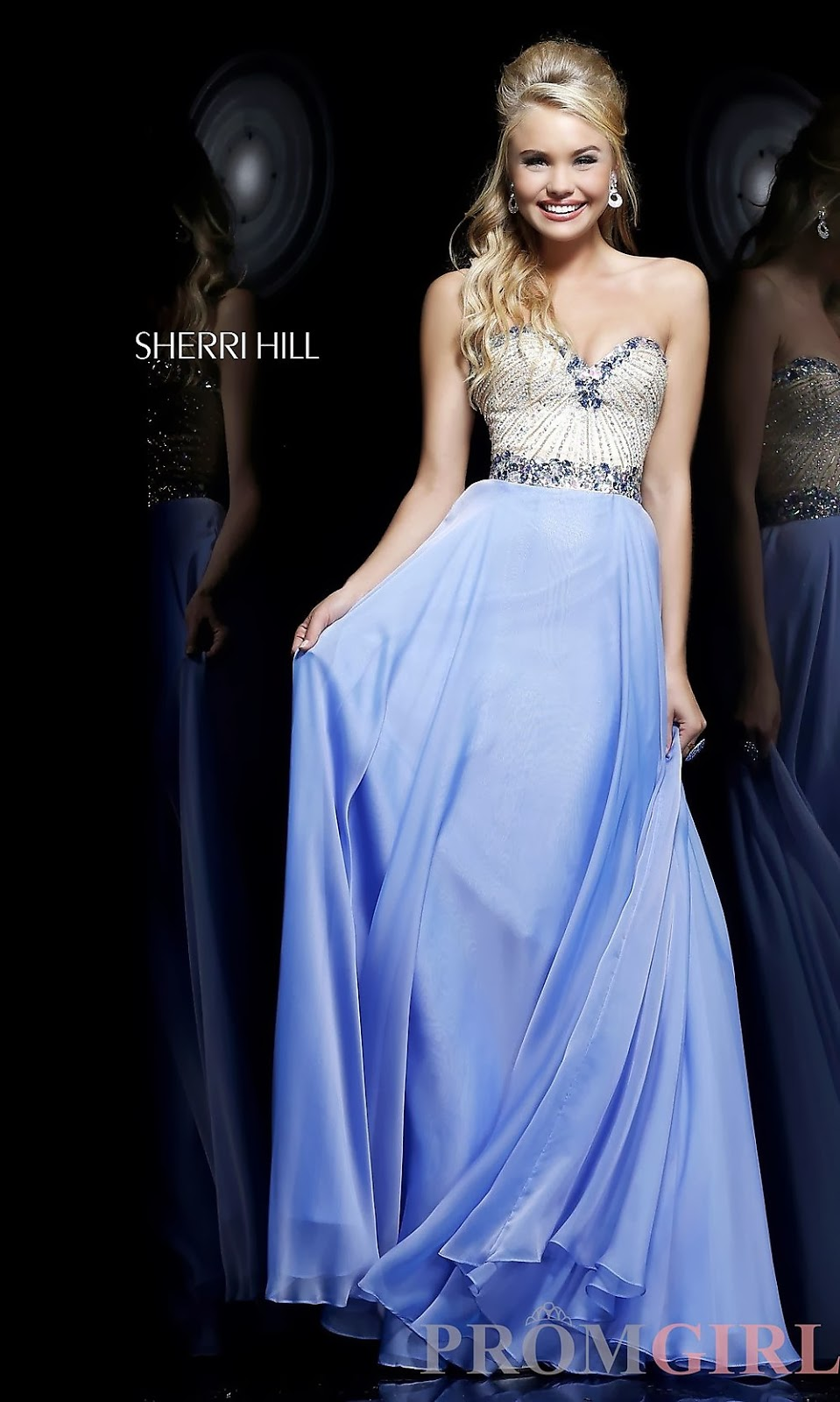 Latest Fashion Trends: Sherri Hill Beautiful Long Prom ...