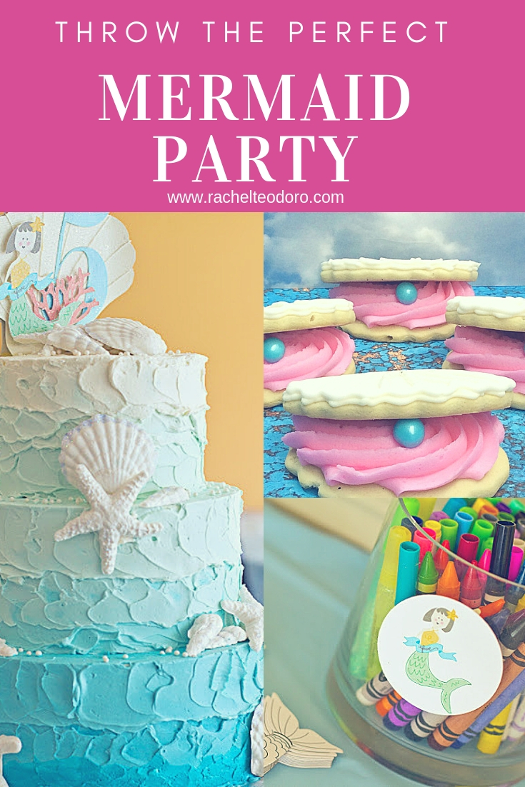 mermaid themed birthday party