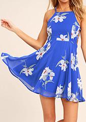 Lulus spring floral dress