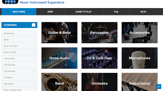 music gear sites