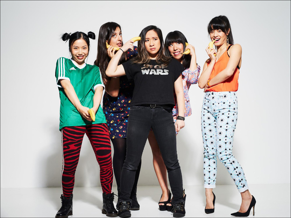 Asian Woman Comedian
