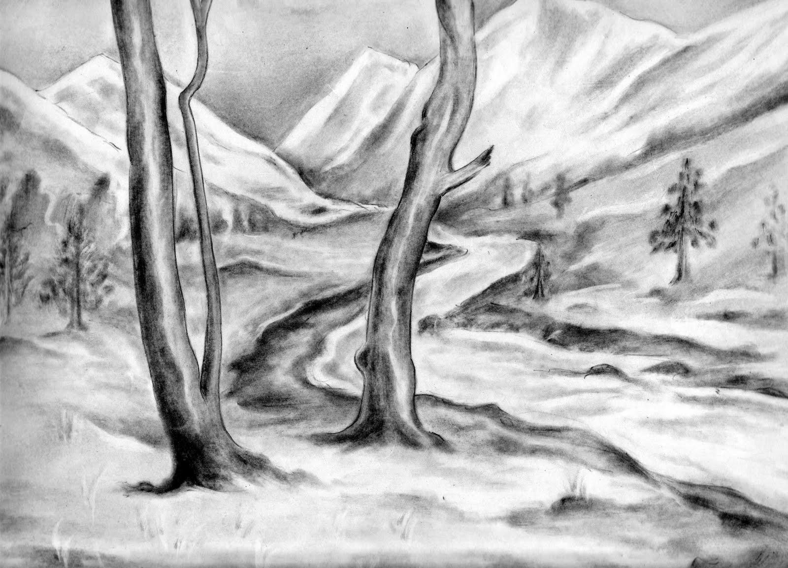 My pencil drawings natural