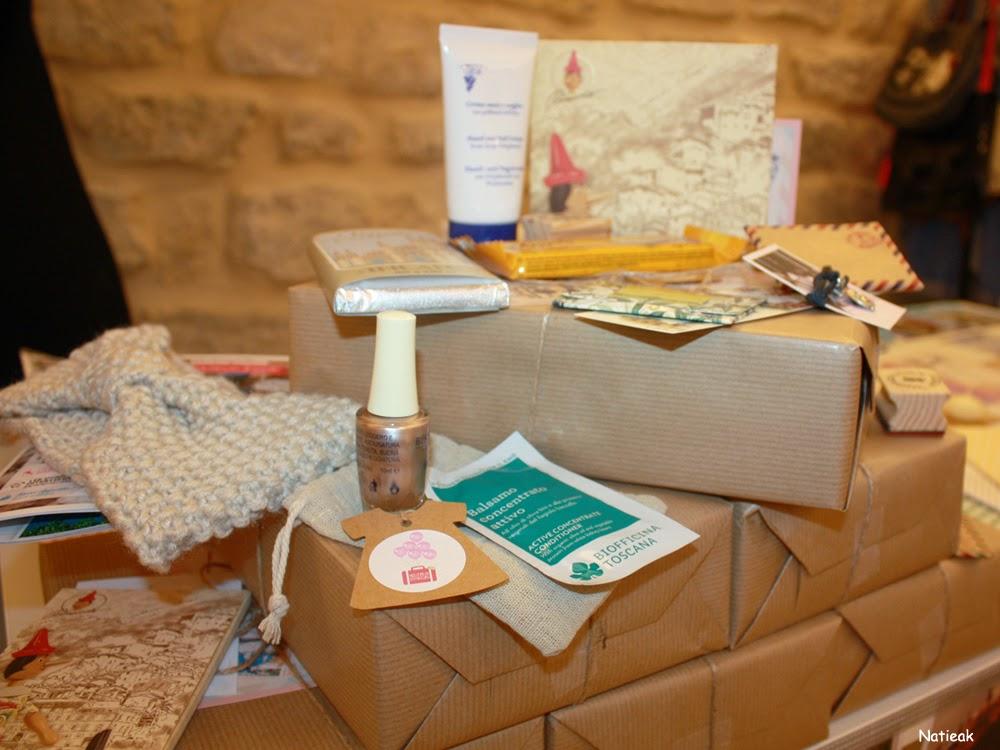 Nos curieux voyageurs box Italie