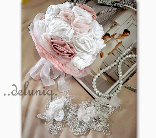 custommade flower/hand bouquet bt deluniq