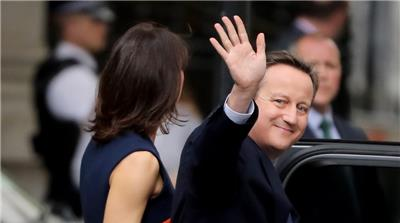 UK: Former PM David Cameron resigns from parliament