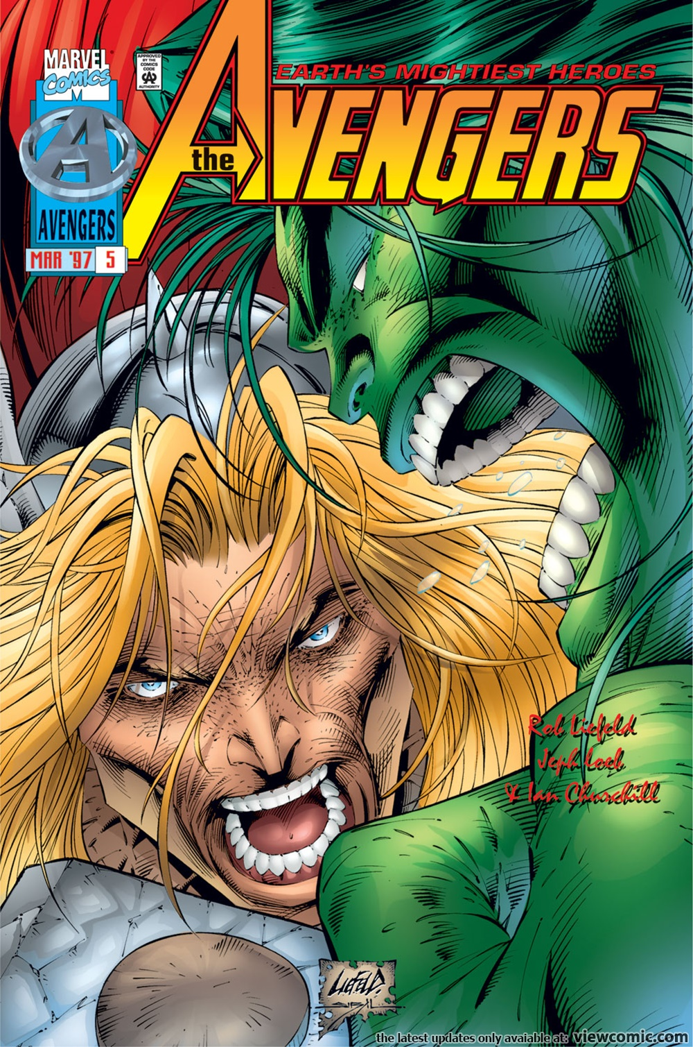 Avengers v2 005 (1997) | Vietcomic.net reading comics online for free