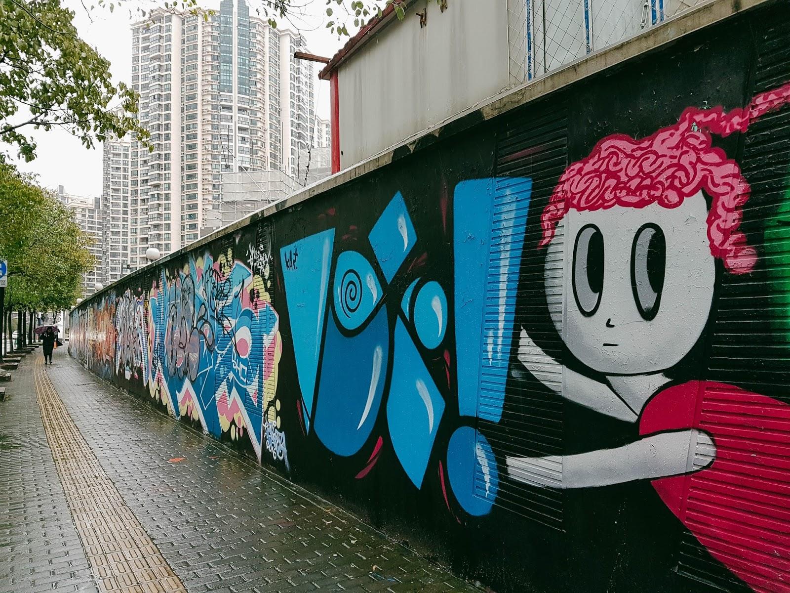 Street Graffiti Shanghai