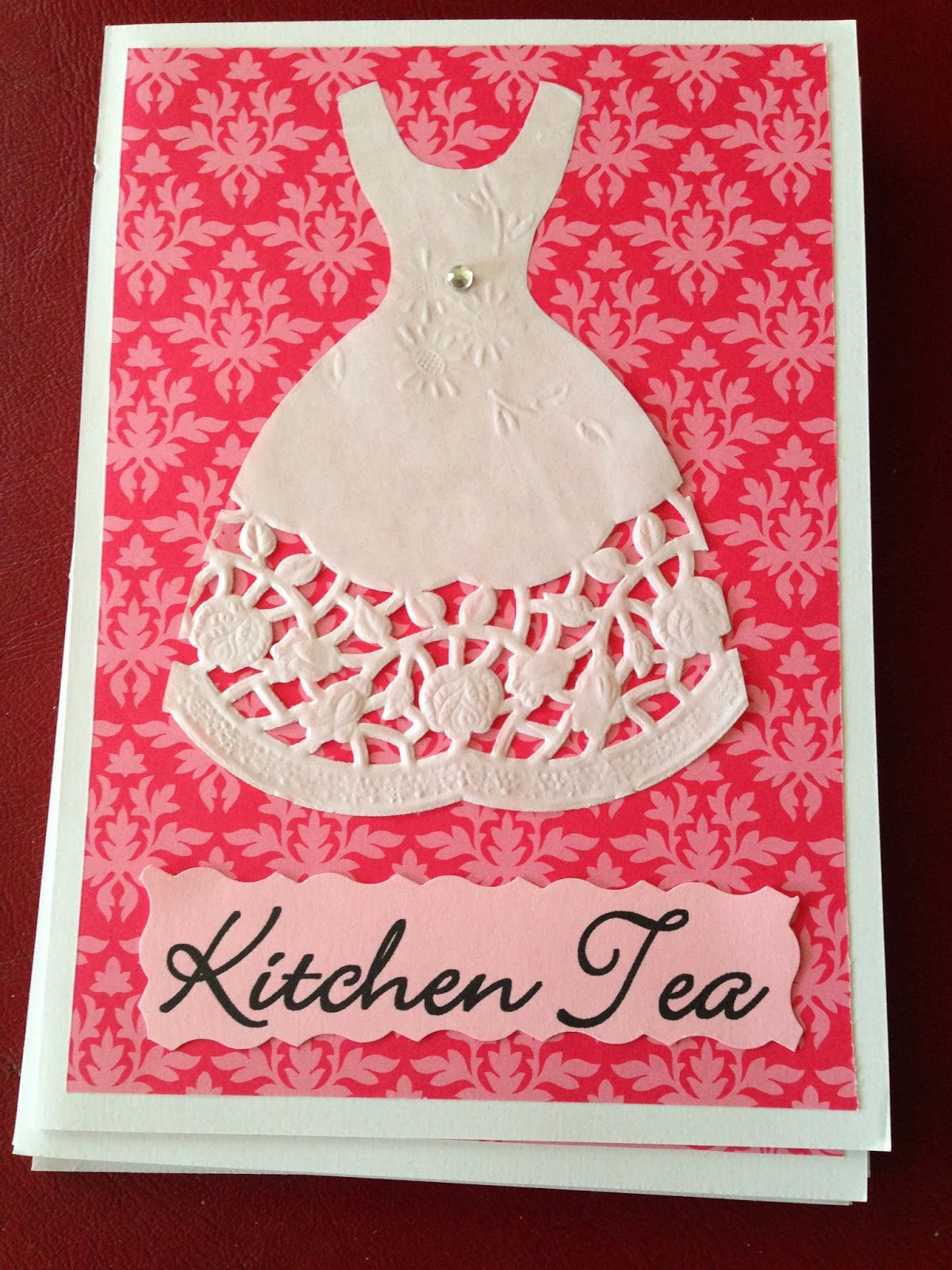 kitchen tea invites ideas miss jen pretty in pink kitchen tea diy invite 20089