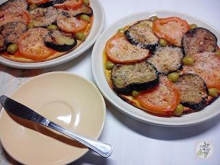 Pizza Vegana de Berenjena, Facil