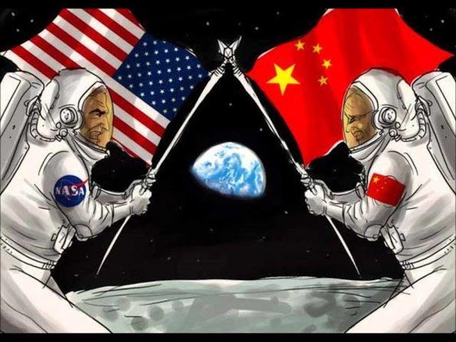 Durante a guerra fria, USA e União Soviética disputavam ir a Lua