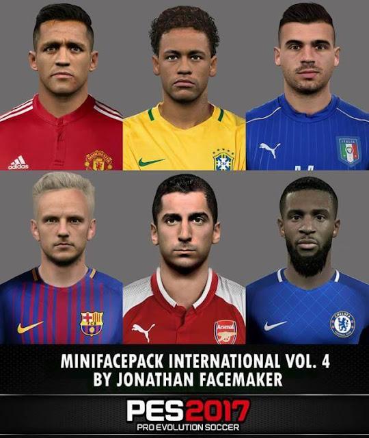 Mini Facepack International PES 2017