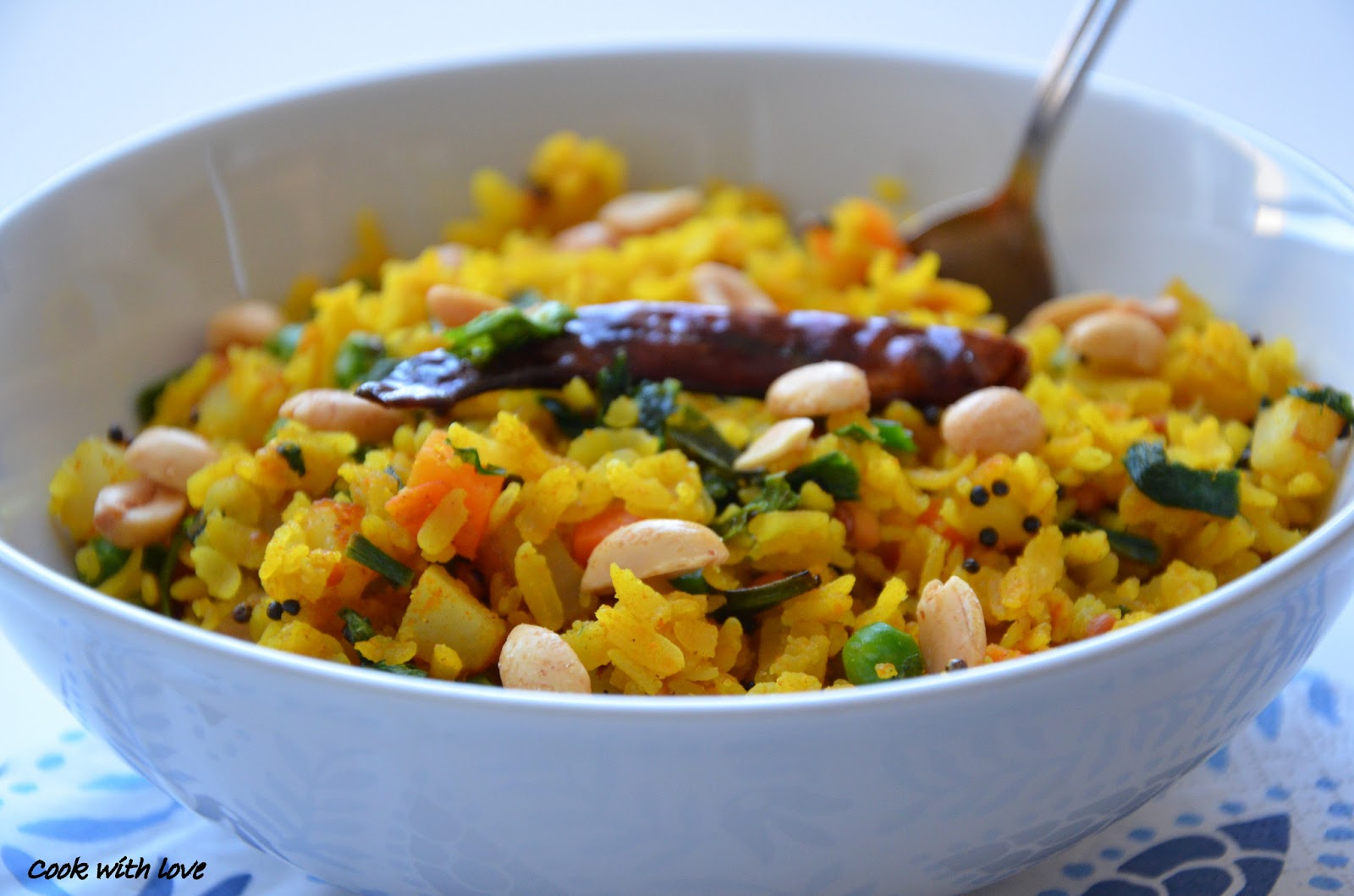 Poha, a dish from my childhood | Bambi's Kitchen