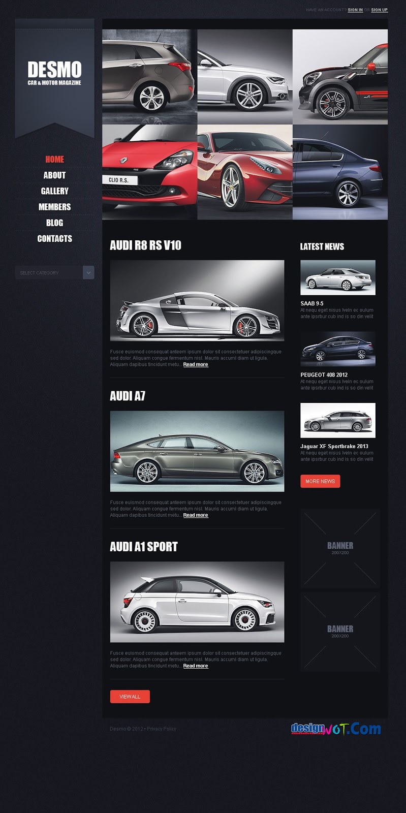 DESMO Car Premium Responsive Wordpres Theme