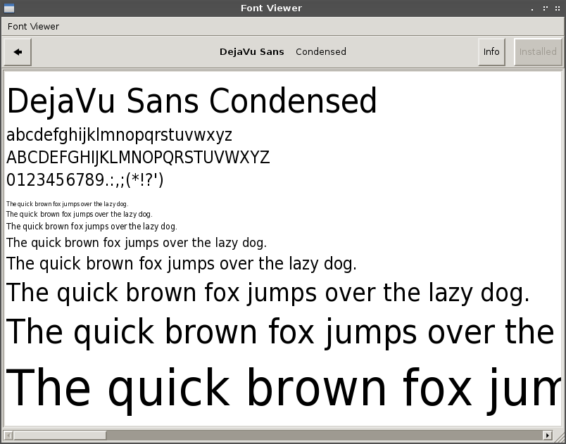 Installing Common Fonts & Font viewer on Archlinux