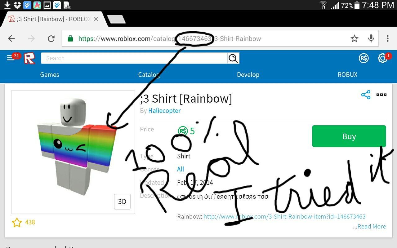 roblox how to make shirt color choosabble