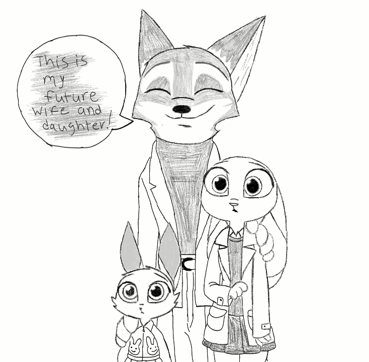 How To Draw Cartonic Characters Zootopia